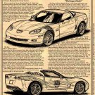 2007 Ron Fellows Z06 Edition & Pace Car Edition Illustrated Series No. 125