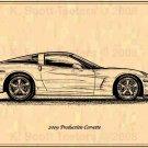 2009 Production Corvette Profile