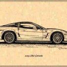 2009 ZR1 Corvette Profile