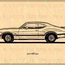 1970 Olds 442 Profile - Print No. OLD-2