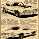 1970 Olds 442 - Print No. BPS-13