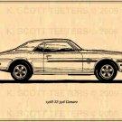 1968 SS 396 Camaro Profile