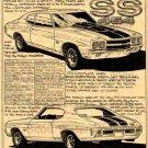 1970 SS-454 Chevelle - No. BPS-2