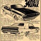 1970 Dodge Challenger T/A  - No. BPS-4