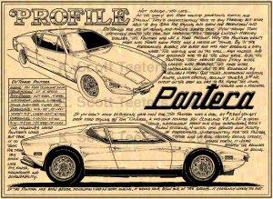 Ford DeTomasso Pantera