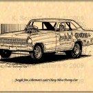 Jungle Jim Liberman Chevy 1967 Nova Funny Car