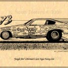 Jungle Jim Liberman Chevy 1973 Vega Funny Car