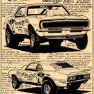 Bill Grumpy Jenkins 1968 Pro Stock Camaro