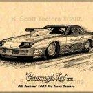 """Bill Jenkins' """"Grumpy's Toy XVII"""" 1982 Pro Stock Camaro"""