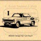 "Bill Jenkins' ""Grumpy's Toy I"" Super Stock '66 Chevy II"
