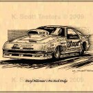 Daryl Alderman's Pro Stock Dodge