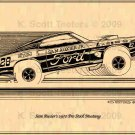 Sam Auxier Pro Stock 1970 Ford Mustang