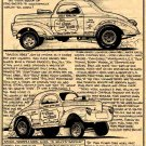 Stone Woods & Cook Willys Gasser: Drag Racing History