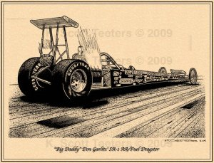 Don Garlits SR-1 Dragster (rear)