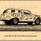 Jesel Brothers Yoo-Hoo-Too Chevy Sedan Delivery Wagon