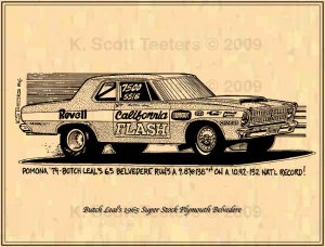 Butch Leal's Super Stock Plymouth Belvedere