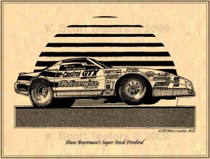 Dave Boertman's Super Stock Firebird