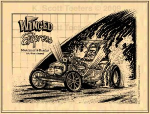 """Al Marcellus & Willy Borsch """"Winged Express"""""""