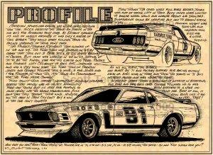 1970 Trans-Am Mustang Racer