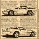 1989 ZR-1 Snake Skinner Corvette Illustrated Series No. 159