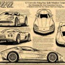 C7 Corvette Sting Ray Split-Window Coupe Concept  Illustrated Series No. 160
