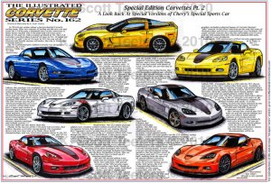 Special Edition 1997 to 2011 Corvettes Pt.II Illustrated Series No. 162