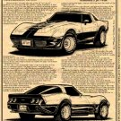 1978 Jet Turbine-Powered Corvette Illustrated Series No. 163