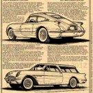 1954 Motorama Corvettes - Corvette Illustrated Series No. 178