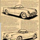 1953 Corvette - Corvette Illustrated Series No. 181
