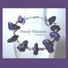 Paul Stanley Purple Chunky Bracelet,KISS, Chunky Look, Great Color, Ramona Beasley