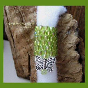 Light Green, Charm Dangle, Dreadlock Sleeve, Dread Bead, #TrendyTreasuresByRamona
