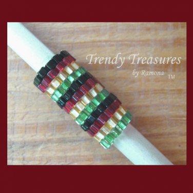RASTA Colors, Dreadlock Sleeve, Dread Bead, #TrendyTreasuresByRamona