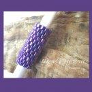 Bright Iridescent Purple, Dreadlock Sleeve, Dread Bead, #TrendyTreasuresByRamona