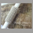 Metallic Silver,Dreadlock Sleeve, Dread Bead, Braid Bead,#TrendyTreasuresByRamona