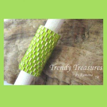 Bright Green,Dreadlock Sleeve, Dread Bead,Braid Bead,#TrendyTreasuresByRamona