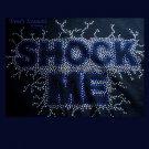 """Shock Me"", Original Design Bling Rhinestone Embellished T-shirt, New, Ace Frehley, KISS"
