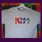 KISS Images, Original Design Bling Glitter Embellished T-shirt, New, KISS