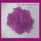 ToHo Cube Beads, 2 mm, 15 Grams, Hot Pink, No. 980, #TrendyTreasuresByRamona,