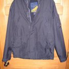 Mens L Navy Blue Hollister Ski Sport Jacket Coat