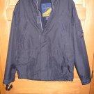 Mens L Navy Blue Hollister Ski Sport Jacket Coat