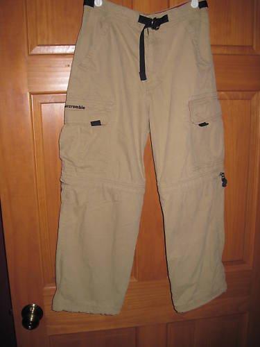 Boys Cargo Pants Abercrombie Size L Large
