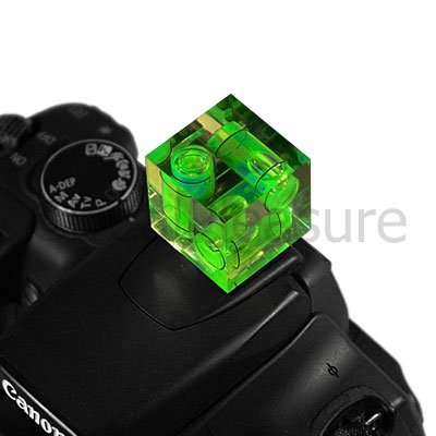 Triple Axis Hot Shoe Spirit Level Gradienter for DSLR Camera