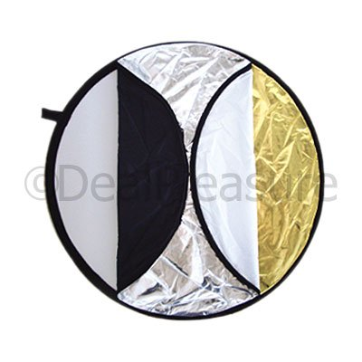 """80cm (33"""") 5-in-1 Studio Light Disc Collapsible Reflector"""