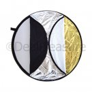 "80cm (33"") 5-in-1 Studio Light Disc Collapsible Reflector"