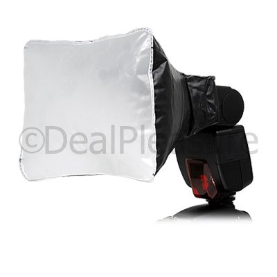 Air Blow Inflatable Diffuser Soft Box for Camera Hot Shoe Flash