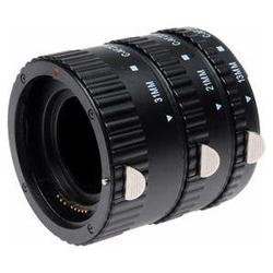 Macro Auto-Focus AF Extension Tube Set for Canon EOS Camera Lens