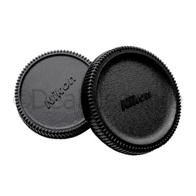Camera Body Cap and Rear Lens Cap for Nikon DSLR