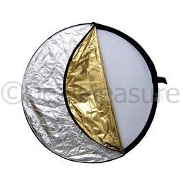 "43"" 110cm 5-in-1 Studio Light Mulit Collapsible Disc Reflector"