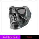 Death Skull Bone Airsoft Full Face Mask Protective Military Game