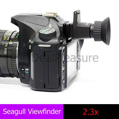 SEAGULL 2.3x View Finder Viewfinder for DSLR Camera Canon Nikon
